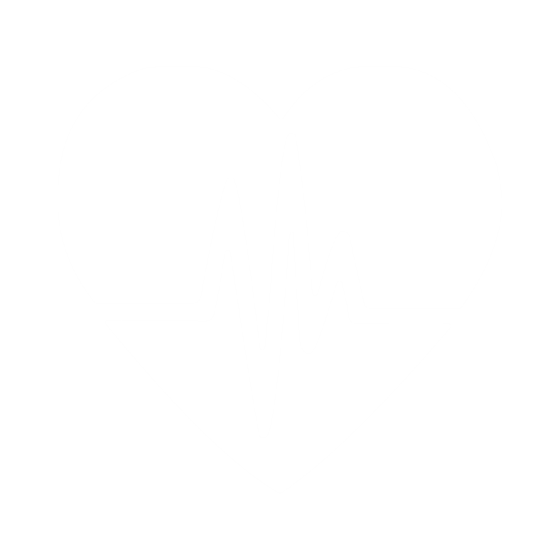 white heart cardio icon image personal and group training