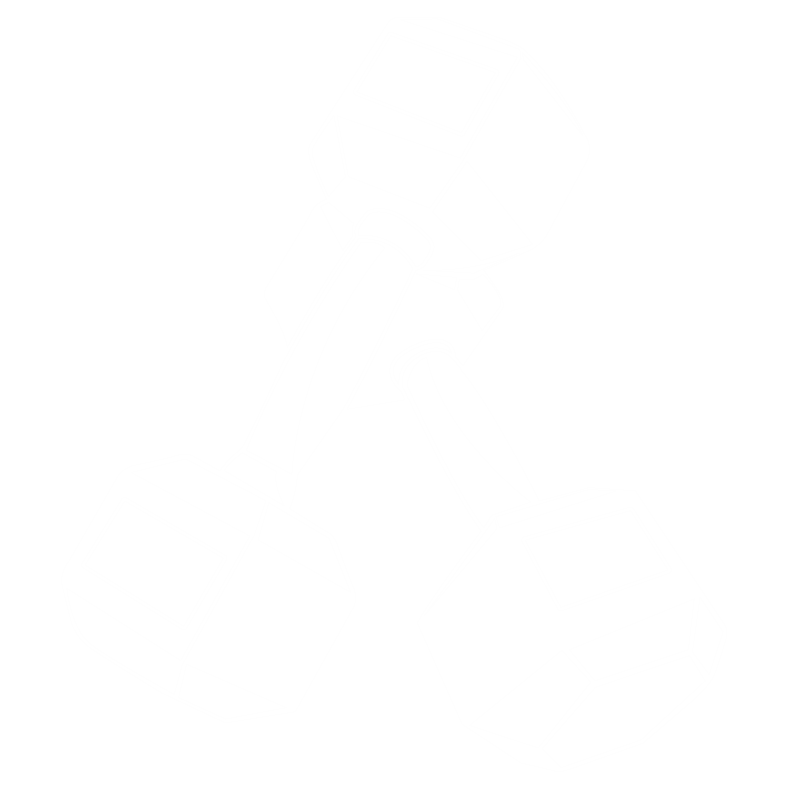 white dumbbell icon image personal and group training